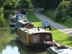 Lower Avon Navigation - Kennet & Avon Canal at Bradford on Avon, Wiltshire