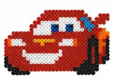 Hama midi pakker - Køb Hama midi perler i pakninger - Haandlavet. Melty Bead Patterns, Pearler Bead Patterns, Perler Patterns, Beading Patterns, Hama Beads Design, Diy Perler Beads, Perler Bead Art, Disney Cars, Perler Bead Disney