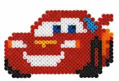 Cars McQueen  Hama perler beads
