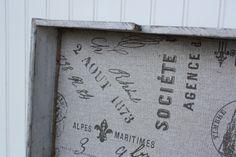 Repurposed Farmhouse Drawer Tray or Shelf. $39.00, via Etsy.