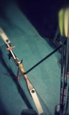 Moj łuk ze strzałami (nowymi)