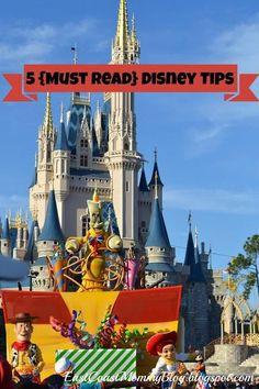 5 Disney Vacation Tips #WaltDisneyWorld