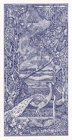 Elisabetta Trevisan..Crystal Tarot ► Card Back