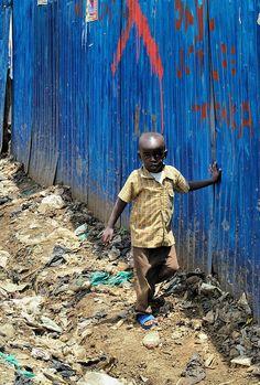Kibera Slun in Kenya