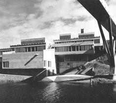 Dunelm House, Durham University, 1965  (Dick Raines, Architect's Co-Partnership)