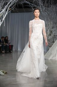 Monique Lhuillier Fall 2013 Collection via Weddingish Blog