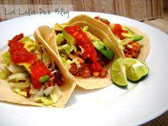 La Lola Dice: Tacos de Atún