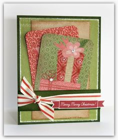 My Scrap Happy Life: Christmas Cards created using the Picture My Life Cards from pocket style scrapbooking kits.  www.tina.ctmh.com #picturemylife #ctmh #projectlife