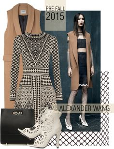 """""""Pre Fall 2015 Alexander Wang"""" by missbeaheyvin on Polyvore"""