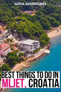 Planning to visit Mljet, Croatia? This island near Dubrovnik is famous for being home to Mljet national park, coral reefs for the best snorkeling in Croatia, Odysseus cave, and several of the most beautiful beaches in Croatia. Check this guide to things to do in Mljet to discover more about Mljet island, a paradise Croatian island where you can experience Croatia off the beaten path! things to do in Croatia | places to visit in croatia | croatia off-the-beaten-path | croatia vacation ideas Europe Destinations, Europe Travel Tips, Travel Goals, European Travel, Travel Guides, Maui Vacation, Vacation Ideas, Mljet Croatia, Croatia Travel