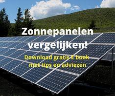 Goed voorbereid zonnepanelen kopen. Download E book zonnepanelen vergelijken met tips en adviezen. Solar Panels, Tips, Outdoor Decor, Sun Panels, Solar Power Panels, Counseling