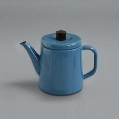 LABOUR AND WAIT | Japanese Enamel Teapot Blue