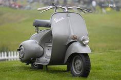 Vespa 98. Since 1946. http://sincetheblog.com/2014/07/18/vespa-98/
