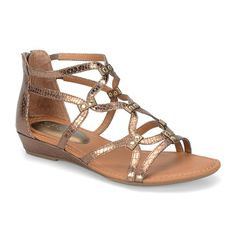 7eb8f9f991a Eurosoft™ Mekelle Strap Sandals - JCPenney Wedge Shoes
