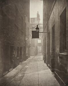 """Close, No. 18 Saltmarket,"" Thomas Annan, Glasgow, Scotland, 1868 - 1877."
