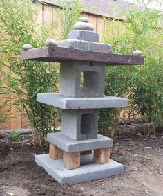 Picture of Easy Garden Pagoda http://www.instructables.com/id/Easy-Garden-Pagoda/
