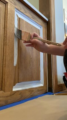 Don't pick up a brush before You Know these things! Number 6 might surprise you Cleaning Cabinets, Diy Cabinets, Painting Kitchen Cabinets, Kitchen Paint, Painting Courses, Painting Tips, Countertop Options, Do It Yourself Inspiration, Cabinet Boxes