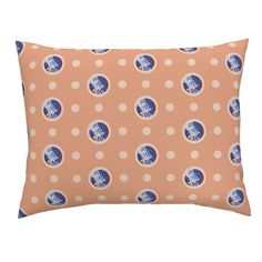 Campine Pillow Sham featuring Pin&Pon Popane by joancaronil | Roostery Home Decor