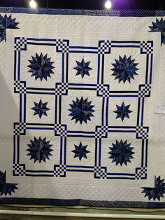 Maritime designed by Judy Martin. Pattern is in Stellar Quilts. Seen at Sarasota Quilt Show
