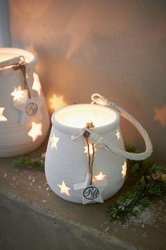 Mooie kaarslantaarn voor kerst