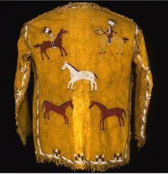 Lakota jacket Native American Clothing, Native American Beadwork, Native American Art, Beaded Jacket, Native Art, First Nations, Native Americans, Shirt Jacket, Vests