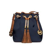 Michael Kors Marina Drawstring Bag! Lust list post on the blog!  Www.onsundayswebrunch.com