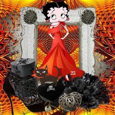 Betty Boop Halloween, Girl Cartoon, Little Girls, Pin Up, Create, Crafting, Corner, Costume, Tags