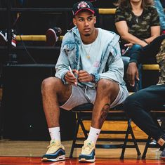 Dope Outfits For Guys, Swag Outfits Men, Summer Outfits Men, Stylish Mens Outfits, Men Summer, Nba Fashion, Streetwear Fashion, Mens Fashion, Junior Fashion