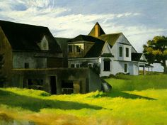 Cape Cod Afternoon 1936; Oil on canvas, 34 x 50 inches; Museum of Art ...