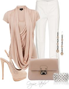 """""""Barely There"""" by orysa ❤ liked on Polyvore"""