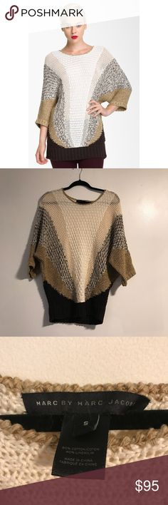 Marc by Marc Jacobs Edith Multicolor Sweater Beautiful multicolor sweater from Marc by Marc Jacobs. In very good pre worn condition. Size small. No trades! Marc by Marc Jacobs Sweaters