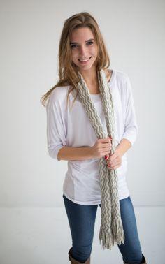 Magnolia Boutique Indianapolis - Fringe Chevron Scarf-Ivory, $14.00 (http://www.indiefashionboutique.com/fringe-chevron-scarf-ivory/)
