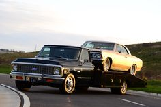 Best of BangShift 2013: A 1972 Chevy Ramp Truck That Hauls A Chevelle and Hauls Tail Too!