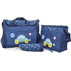 Multifunctional Fashion Car Mother Bags Baby Diaper Stroller Nappy Organizer for Mom Maternity  Mummy Handbag Baby Care B535