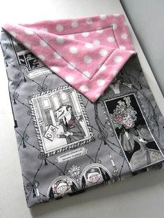 Gothic Ghastlies Baby Toddler Blanket