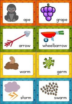 Worksheets Rhyme Words rhyme time set 2 words word work activities and children 2