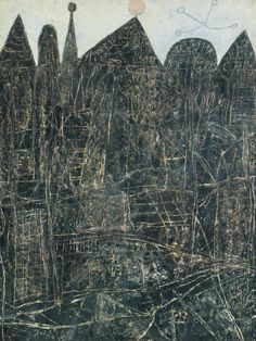 Tate glossary definition for art brut: French term that translates as 'raw art', invented by the French artist Jean Dubuffet to describe art such as graffiti or naïve art which is made outside the academic tradition of fine art Jean Dubuffet, Henri Fantin Latour, Illustration Art, Illustrations, Art Brut, Call Art, Naive Art, Outsider Art, Mark Making