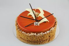 Serge Alexandre the great! Just one of many stunning #entremets from his class today at Savour Chocolate and Patisserie School.