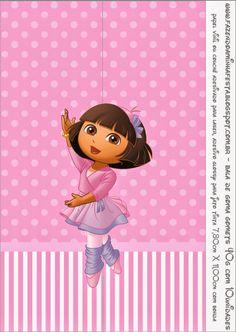 Dora Balletista: Etiquetas para Candy Bar para Imprimir Gratis.