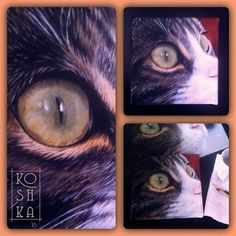 #oilpainting #oilpaint #cat #catportrait #eye #catseye #canvas #canvasart #painting #fineart