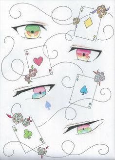 amnesia eyes!