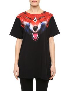MARCELO BURLON Puntarenas T-Shirt. #marceloburlon #cloth #topwear Puntarenas, Fox Print, Great T Shirts, Shirt Designs, Short Sleeves, Mens Fashion, Shirt Ideas, Mens Tops, How To Wear
