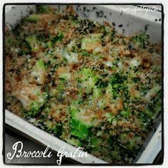 Broccoli Gratin    6 at 2 PPV  4 at 4 PPV  3 at 5 PPV  2 at 7 PPV