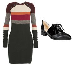 How to Wear Menswear-Inspired Shoes with Skirts and Dresses | InStyle.com