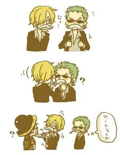 Monkey D. Luffy, Roronoa Zoro & Sanji | One Piece | I don't own the picture, credits to the owner of the pic!