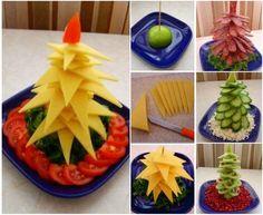 edible Christmas Tree Platter