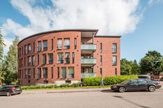 ArkOpen Student Apartment, Student House, Alvar Aalto, Surface Area, School Architecture, Multi Story Building, Yard, Exterior, Bricks