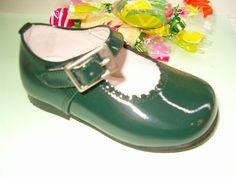 merceditas charol verde botella, para estar a la última moda, color, diseño y máxima calidad