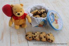 Galletas tipo cookies de avena y tropezones