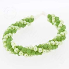 Kimihimo Bracelet - Fresh Green  You must have a go at these bracelets, they are so easy to make and very pretty. They come with full instructions for you to use. I am sure all your friends will be asking you to make one, but don't tell them it only cost £4.99.